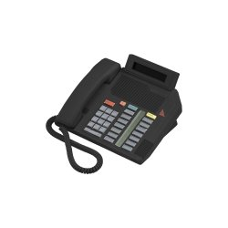 Mitel Networks - A1604-0000-02-07 - Aastra Meridian M5316 Standard Phone - Black - Corded - 1 x Phone Line - Speakerphone - Hearing Aid Compatible