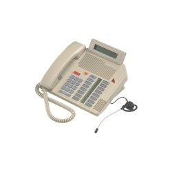 Mitel Networks - A1603-0000-15-07 - Aastra Meridian M5216 Standard Phone - Ash - Corded - 1 x Phone Line