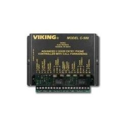 Viking - C-500 - Advanced Two Door Entry Phone Controller with Call Forwarding and Door Strike Control