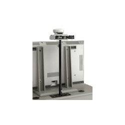 Video Furniture International - CAM - VFI CAM Camera Mount for Video Conferencing Camera - Steel - Black