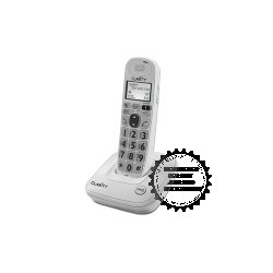 Clarity - 53704.000 - Clarity D704 DECT 6.0 Cordless Phone - Cordless - 1 x Phone Line - Speakerphone - Hearing Aid Compatible