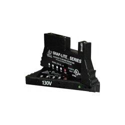 Ditek - DTK-SL130A - DITEK DTK-SL130A Snap-Lite Surge Suppressor - 130 V AC Input - 130 V AC Output - Telecommunication