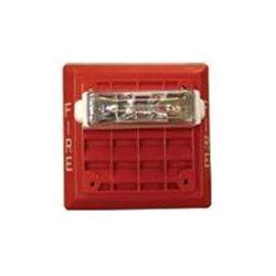 Wheelock - ET80-24MCW-FR - Flush mount speaker/strobe, Red, 15/30/75/110 cd, 25/70 vrms. 1/8 - 8 watt