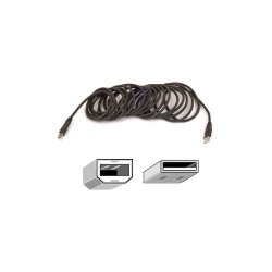 Belkin / Linksys - F3U133-10 - Belkin USB 2.0 Cable - USB - 10 ft - 1 x Type A Male USB - 1 x Type B Male USB