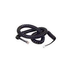 Belkin / Linksys - F8V101-25-BK - Belkin Coiled Telephone Handset Cable - RJ-11 Male - RJ-11 Male - 25ft - Black
