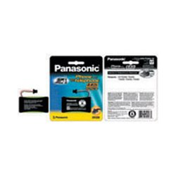 Panasonic - HHR-P506A - Panasonic Nickel-Metal Hydride Cordless Phone Battery - Nickel-Metal Hydride (NiMH) - 2.4V DC