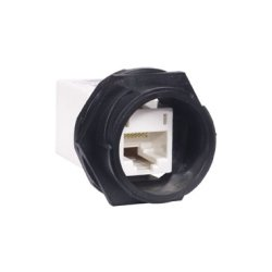 Hubbell - HI5EC - Hi-Impact Connector, Category 5e In-Line Coupler