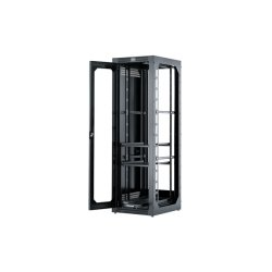 Hubbell - HPW48C19X30 - Premise Networking Cabinet, Plexi-Glass Style Door, 21U, Black **Drop Ship Only**