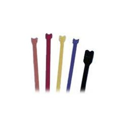 "Hubbell - HPWCVFBK8 - Velcro Brand One-Wrap Cable Ties, 1/2"" W x 8"" L, Black, (10 Pack)"