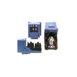 Hubbell - HXJUTI - Modular Jack, Telco Ivory, Plastic, Series: Standard, Cable Type: Voice
