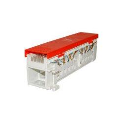 ICC - IC06626P4C - ICC 66 Wiring Block, 12-Jacks, 6P4C - 12 x RJ-11 - 12 Port(s) - 12 x RJ-11
