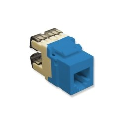 ICC - IC1076F0BL - Module, Voice, RJ-11, High Density, Blue