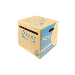 ICC - ICCABP6EBL - ICC Cat.6e UTP Cable - Category 6e for Network Device - 1000 ft - Bare Wire - Bare Wire - Blue