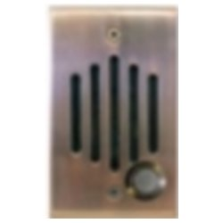 Channel Vision - IU-0252 - Channel Vision Front Door Intercom - IU Series - Cable - Flush Mount