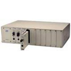 KTI Networks - KC-1000R - 10-Port Conversion Center Chassis, Redundant Power Supply
