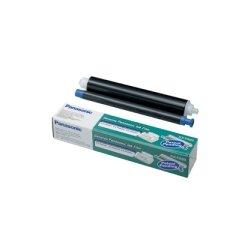 Panasonic - KX-FA93 - Panasonic Black Ribbon Cartridge - Thermal Transfer - 225 Page - 1 Each