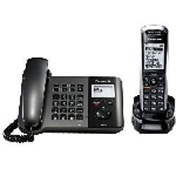 Panasonic - KX-TGP550T04 - Panasonic KX-TGP550 IP Phone - VoIP - 2 x Network (RJ-45)