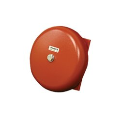 Wheelock - MB-G6-24-R - Series MB Motor Bell, 24VDC, 6 Shell, Red
