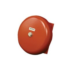 Wheelock - MB-G6-6-R - Series MB Motor Bell, 6VDC, 6 Shell, Red