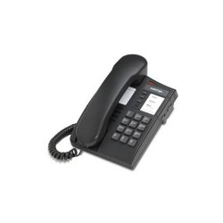 Mitel Networks - A0780801 - Aastra Meridian 8004 Standard Phone - Charcoal - Corded - 1 x Phone Line