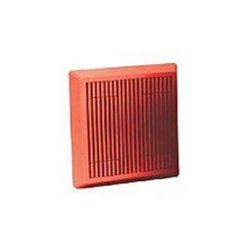 Wheelock - MT4-115-R - 8 Multitone Horn, Surface, Wall/Ceiling, 115VAC, Red