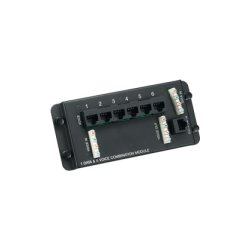 Hubbell - NSO6P1DM - NetSelect Combination Module, 6 Port Telephone/1 Port Data