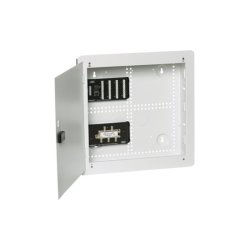 "Hubbell - NSOBNK14 - NetSelect Pre-Configured Network Enclosure, 14"" H with Hinged Cover"