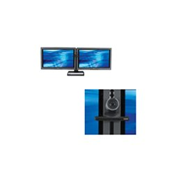 Avteq - PS-50 - Avteq PS-50 Mounting Shelf for Surveillance Camera - Steel