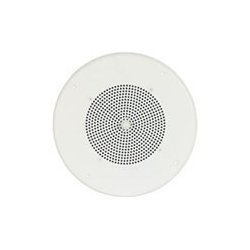 "Bogen - S86T725PG8WBRVR - 8"" Speaker, 6 Oz Magnet w/ T725 Transformer, Off White Grille, Screw Terminal, Recessed Volume Control"