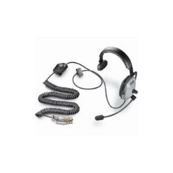 Plantronics - SHR2161-15 - Headset, Moisture-resistant and Ruggedized for ATC Applications in Harsh and Noisy Environments; Black