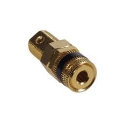 Hubbell - SPBK100 - AV Connector, Speaker Post, Screw Terminal, 3/8, Black (Pack of 100)