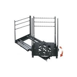Middle Atlantic Products - SRSRX12 - Middle Atlantic Products SRSR Series 19 Rotating Sliding Rail System - 19 12U Wide - Black - Steel - 200 lb x Maximum Weight Capacity