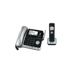 AT&T / VTech - 80-6879-00 - TL86109 2-Line Corded/Cordless Answering System with BLUETOOTH