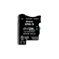 ITW Linx - UP3H-75 - UltraLinx 66 Block/75V Clamp/160mA Fuse