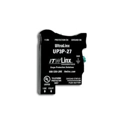 Itw Linx - Up3p-27 - Ultralinx-66 Block Protect 27v Clamp, 160ma Ptc, Indicator Lgts