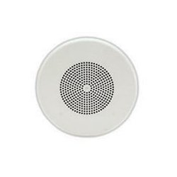 Valcom - V-1020C - Valcom V-1020C 1 W RMS - 8 Woofer Speaker - Semi-gloss White - 80 Hz to 15 kHz - 600 Ohm - 96 dB SNR - Ceiling Mountable, Flush Mount