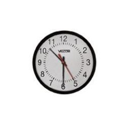 Valcom - VIP-A12A - The Vip-a12a 12 Inch Round Analog Clocks Enable Time Indication, Synchronizatio