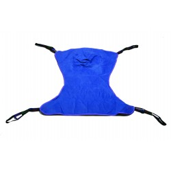 Drive Medical - 13222L - Full Body Patient Lift Sling, Solid, Large - (Blue)