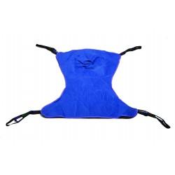 Drive Medical - 13222M - Full Body Patient Lift Sling, Solid, Medium - (Blue)