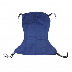 Drive Medical - 13224XL - Full Body Patient Lift Sling, Solid, Extra Large - (Blue)