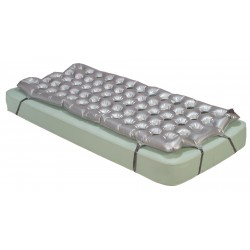 Drive Medical - 14428 - Air Mattress Overlay Support Surface - (Gray)