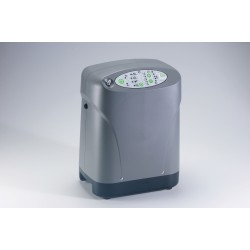 Drive Medical - 306DS-C - iGo Portable Oxygen Concentrator with Deluxe Rolling Carrying Case and Accessory Bag - (Grey)