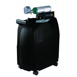 Drive Medical - 535D-2DC - iFill Personal Oxygen Station, Carrying Case, 2 D-CF Cylinders - (Black)