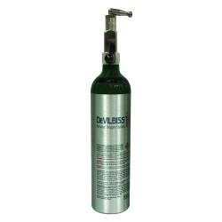 Drive Medical - 535D-M6-870 - 870 Post Valve Oxygen Cylinder, M6 Cylinder - (Silver)