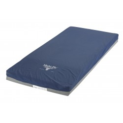 Drive Medical - 6500-DE-1-FB - Multi-Ply Dynamic Elite Foam Pressure Redistribution Mattress, 76 - (Blue)