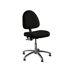 Bevco Precision - 6051 BURG FABRIC - Ergonomic Chair Deluxe Burgundy Olefin 17-22 In Plastic Bevco Ansi/bifma, Ea