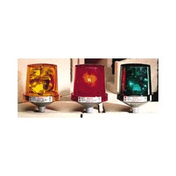 Federal Signal - 225 120 AMBER - Warning Light Amber 120 Volt(s) Rotating Federal Signal, Ea