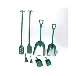 Remco - 6776MD2 - Scraper Metal Detectable Mixing Paddle With Holes T-grip Handle Green Remco 6 Inx13 Inx52 In L Fda S1, Ea