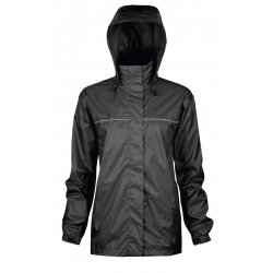 Alliance Mercantile - 920BK L - Womens Windigo Rain Jckt Bl, Ea