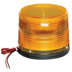North American Signal - LED625-A - 360 Degree Warning Light Permanent Mount, Ea